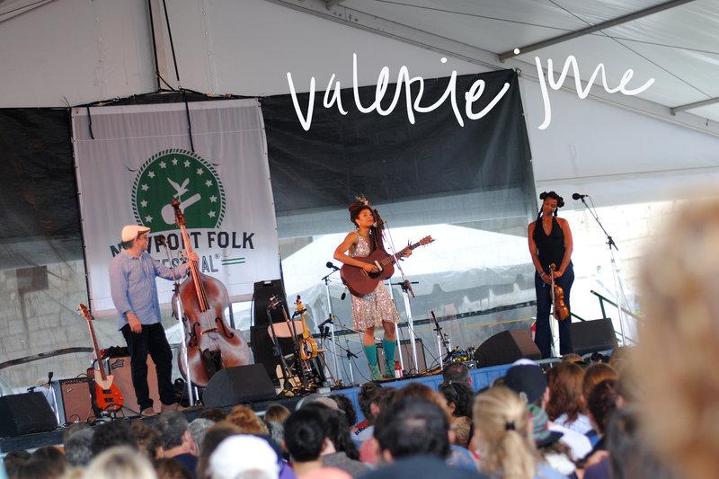 Newport Folk Fest 2014 VALERIE JUNE