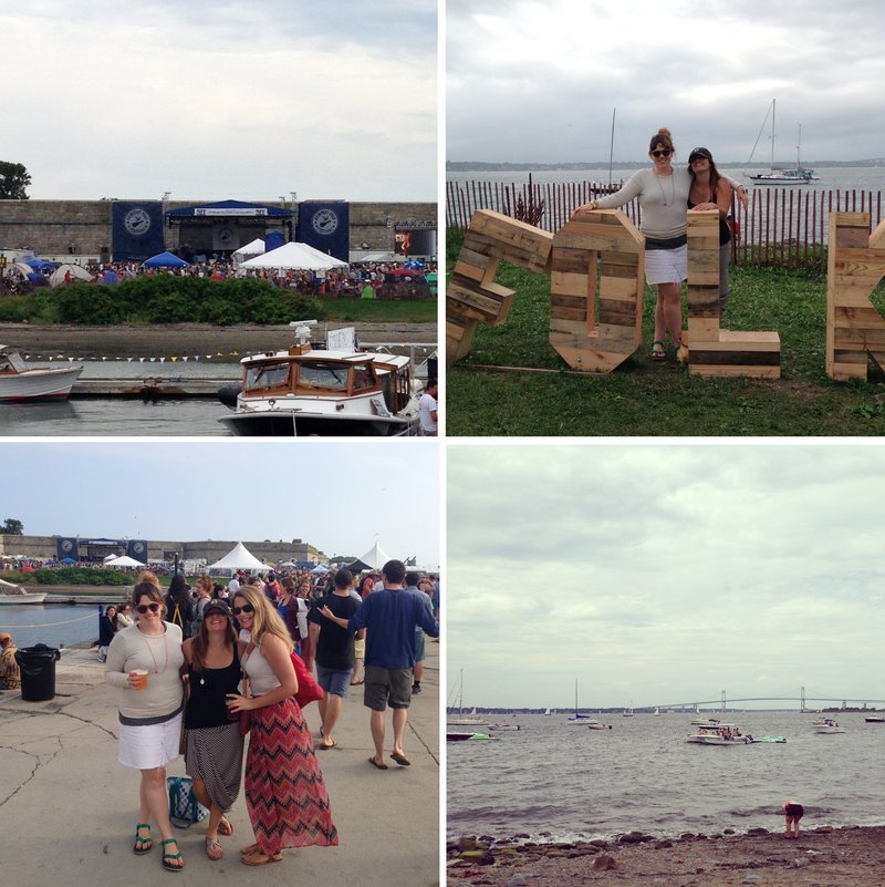 Newport Folk Fest 2014 collage