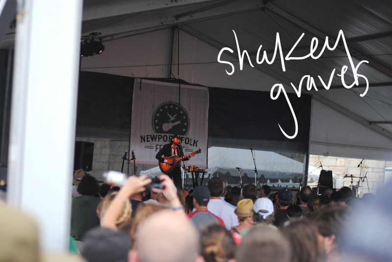 Newport Folk Fest - Shakey Graves