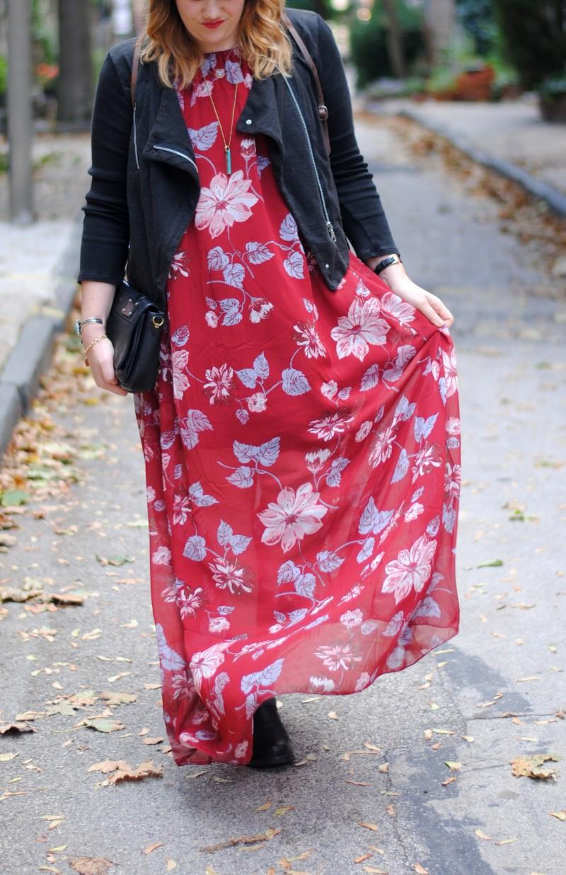 fall floral dress 018