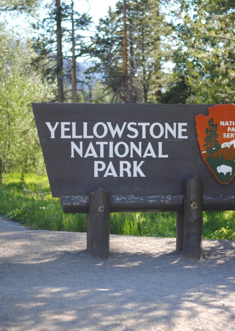 yellowstone sign